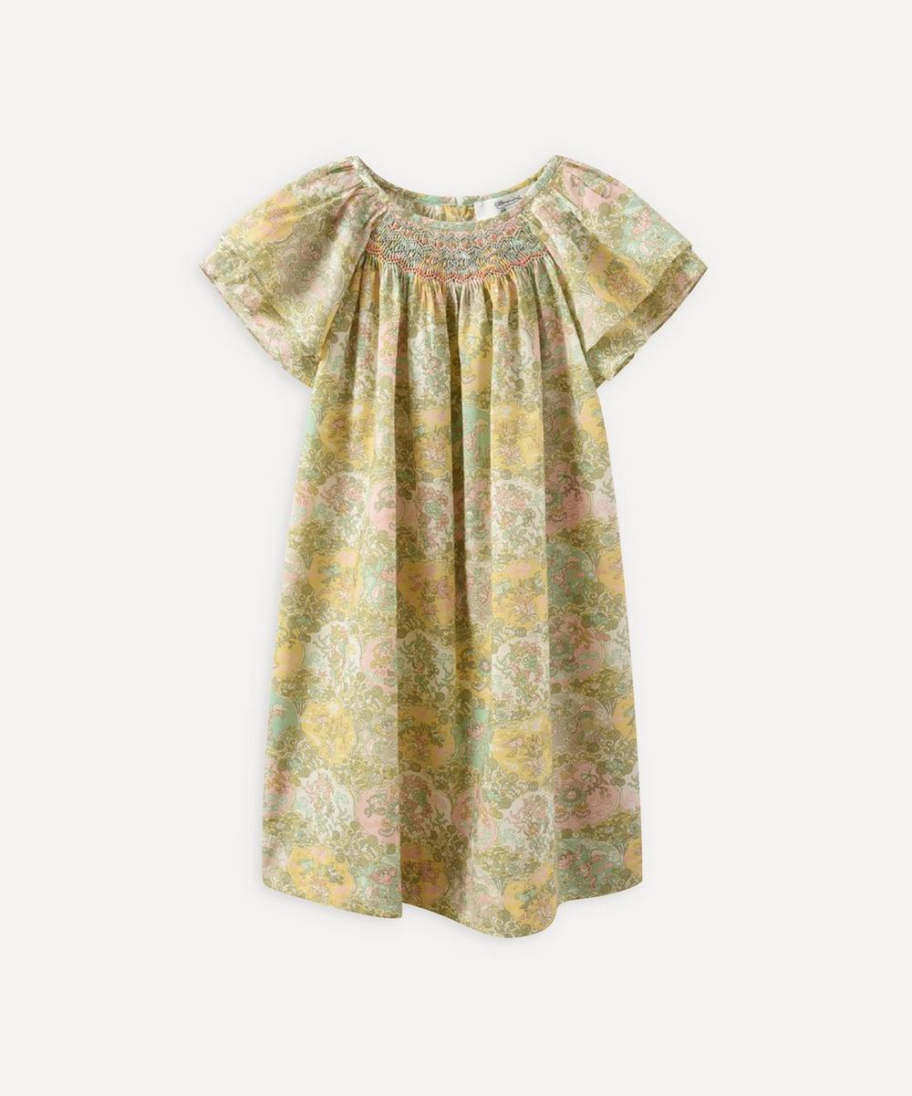 Bonpoint - Salome Floral Smocked Dress 6-8 Years