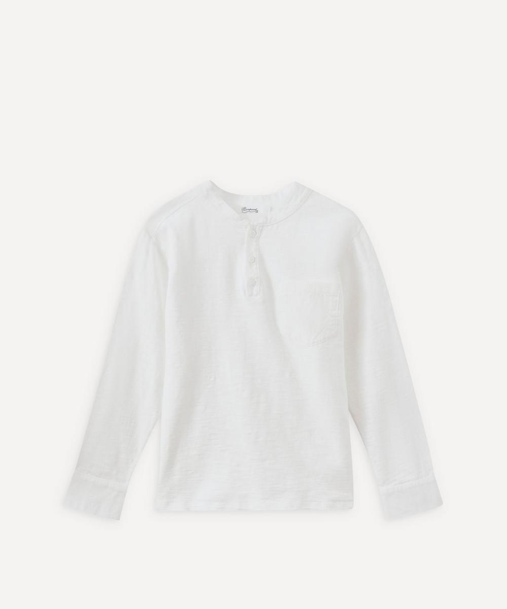 Bonpoint - Matiere Cotton Long-Sleeve T-Shirt 4 Years