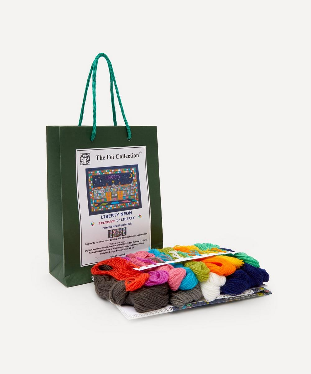 The Fei Collection - Liberty Neon Printed Needlepoint Kit
