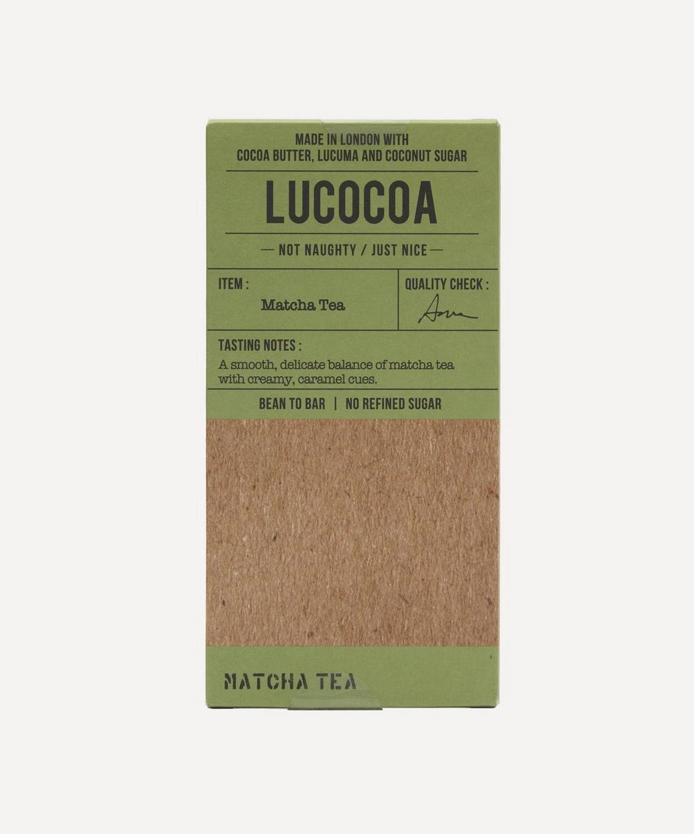 Lucocoa - Matcha Tea White Chocolate Bar 50g