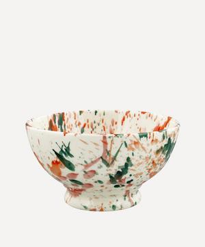Bright Splatter French Bowl