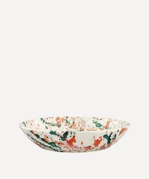 Bright Splatter Medium Pasta Bowl