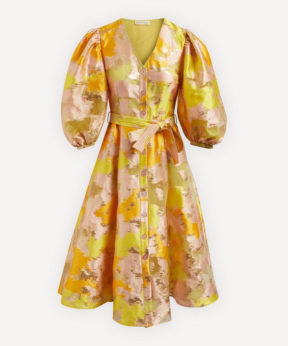 Stine Goya - Amira Metallic Midi-Dress
