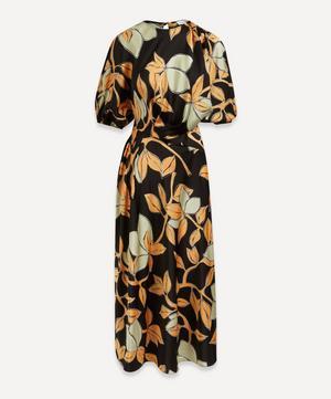 Aubrie Lemon Print Dress