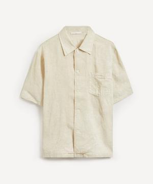 Coated Linen Shirt