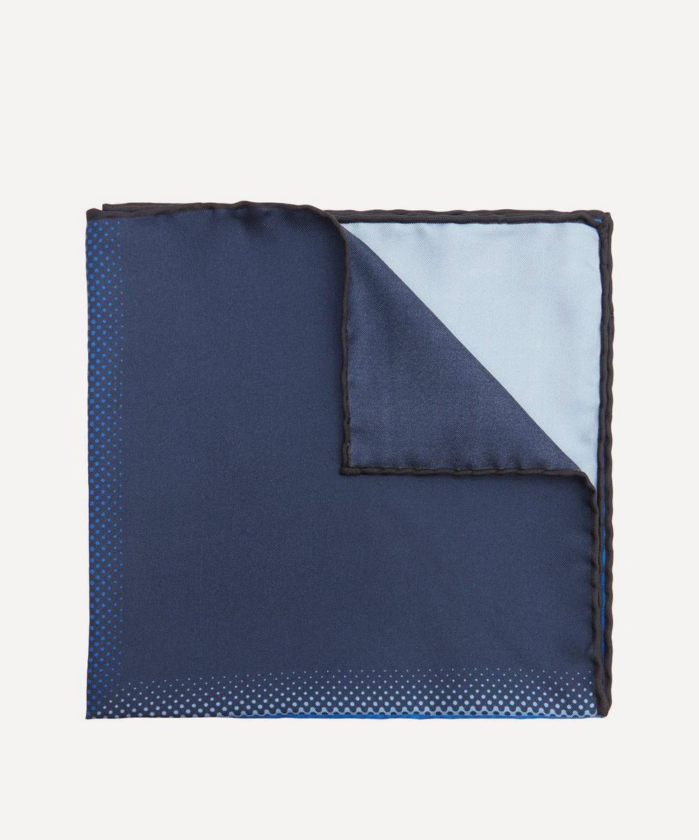 Lanvin - Panelled Silk Pocket Square