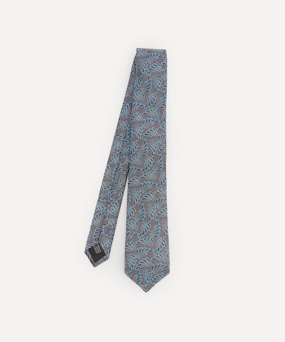 Lanvin - Swirl Woven Silk Tie