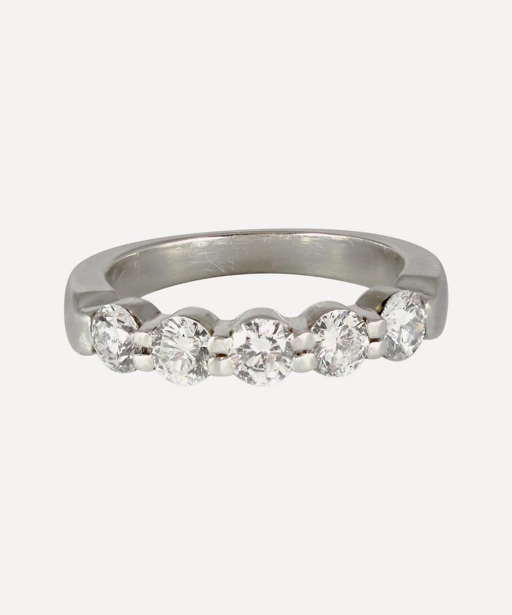 Kojis - Platinum Five Stone Diamond Ring