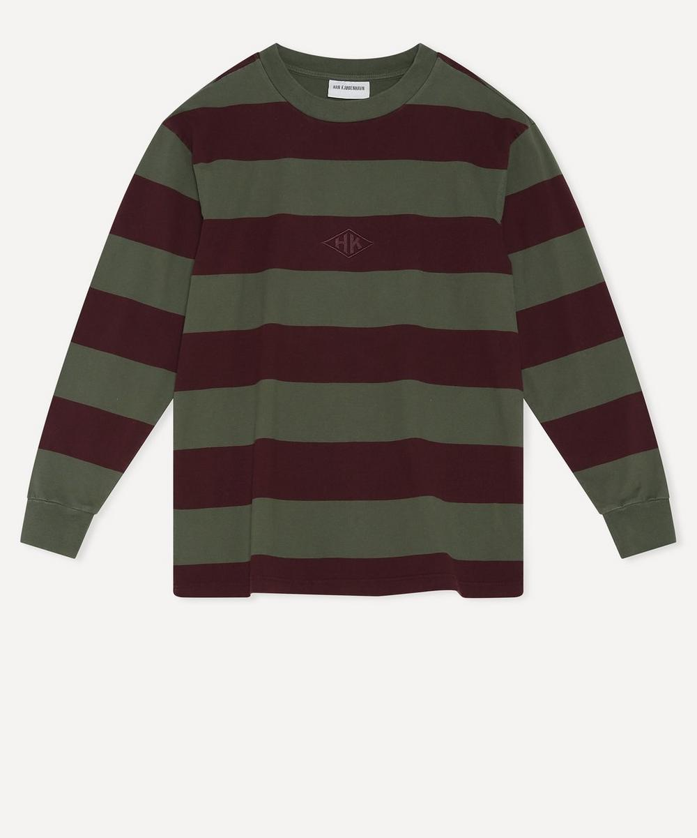 Han Kjobenhavn - Boxy Striped T-Shirt
