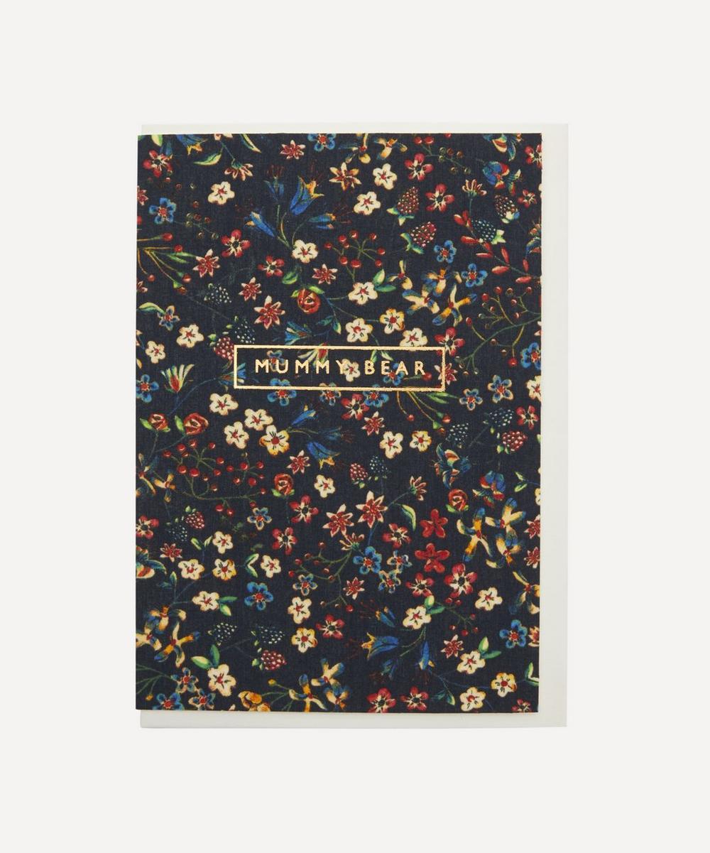 Liberty - Donna Leigh Cotton-Covered Mummy Bear Card