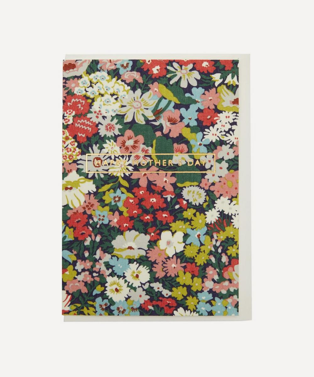 Liberty - Thorpe Cotton-Covered Happy Mother's Day Card