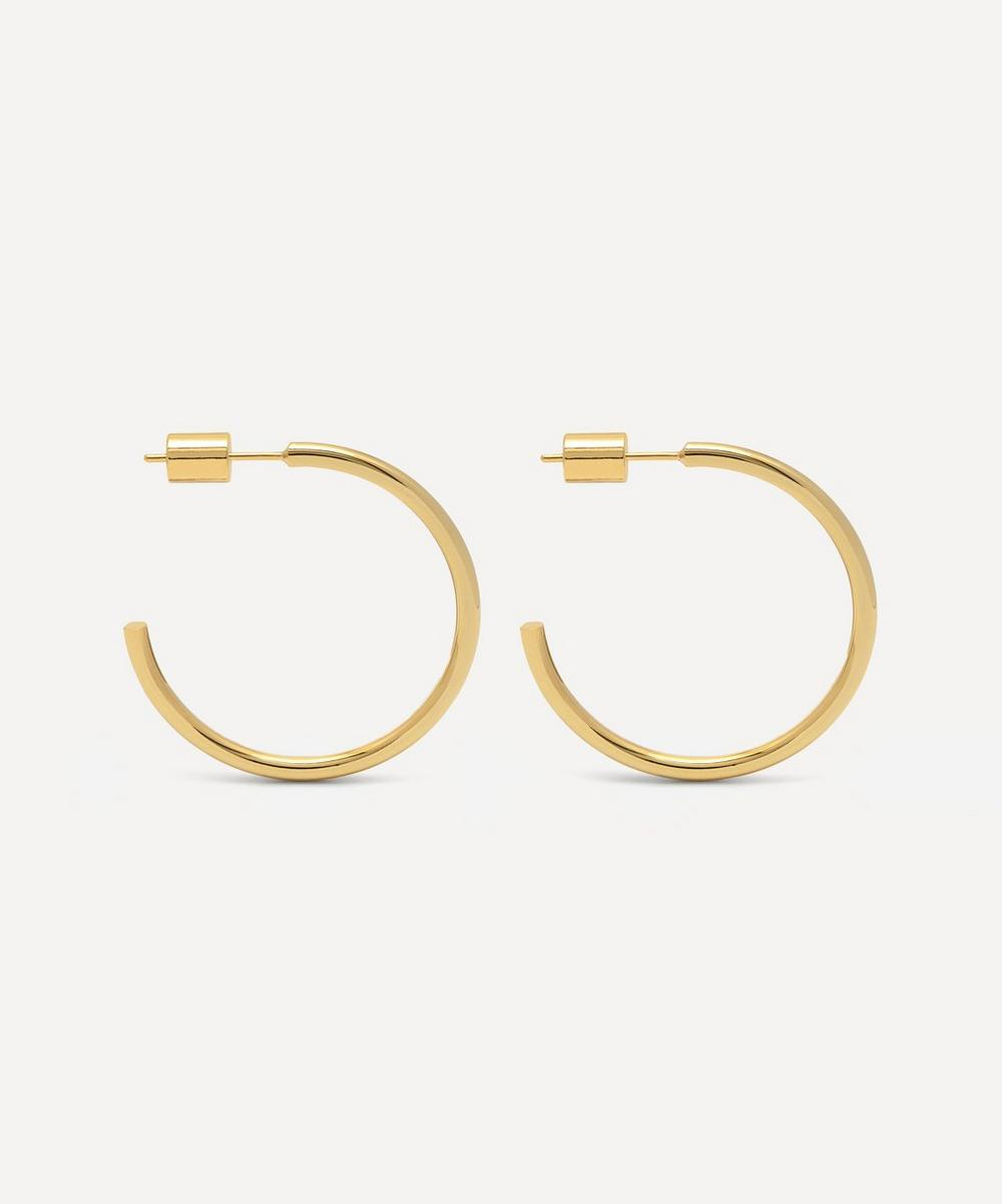Estella Bartlett - Gold-Plated Large Chunky Hoop Earrings