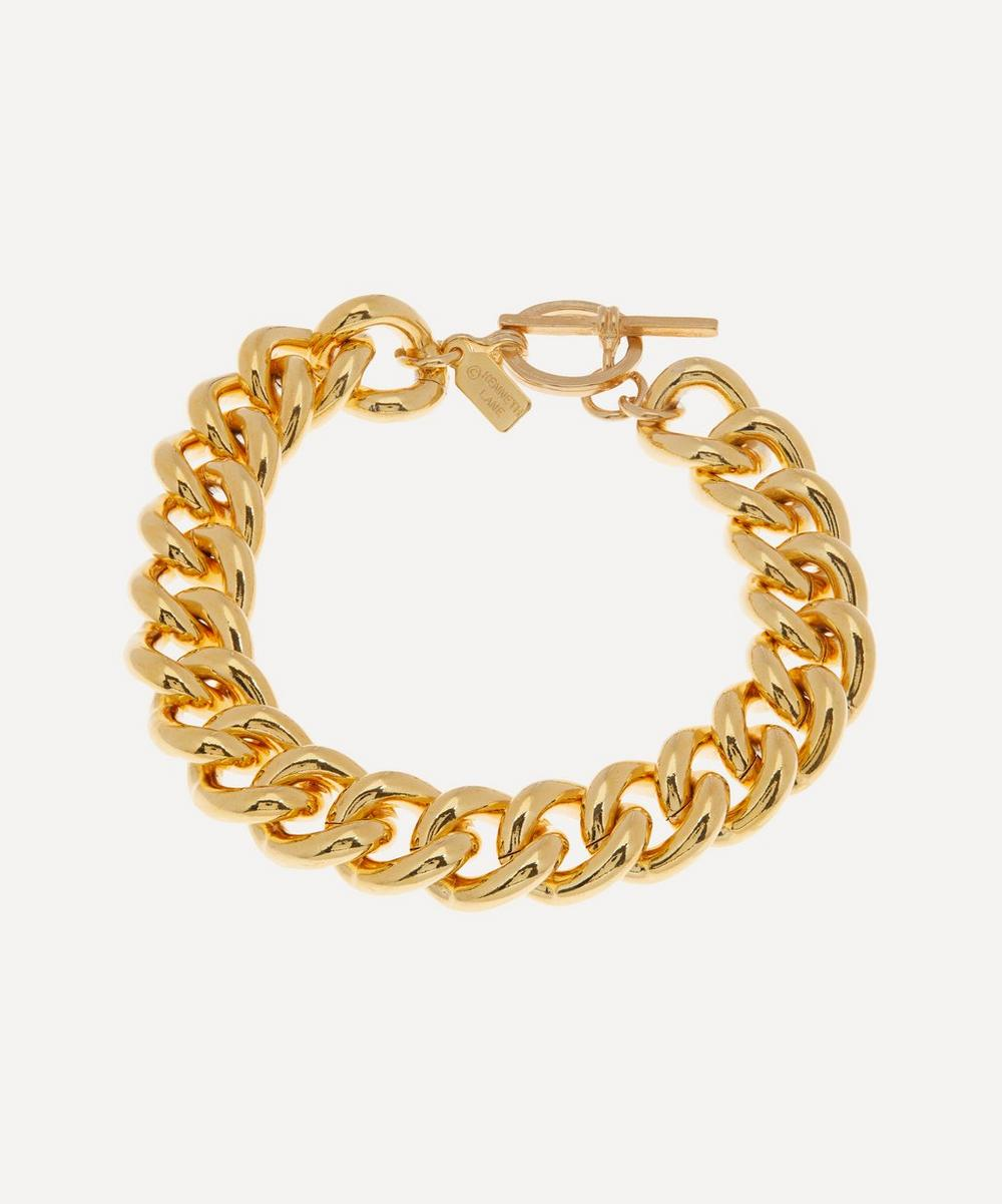 Kenneth Jay Lane - Gold-Plated Curb Chain Bracelet