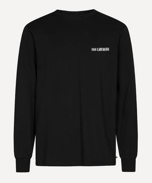 Casual Long-Sleeved Logo T-Shirt