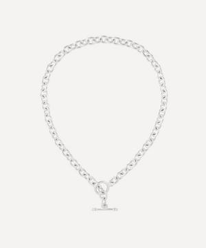 Silver-Plated 1990s Chain Necklace