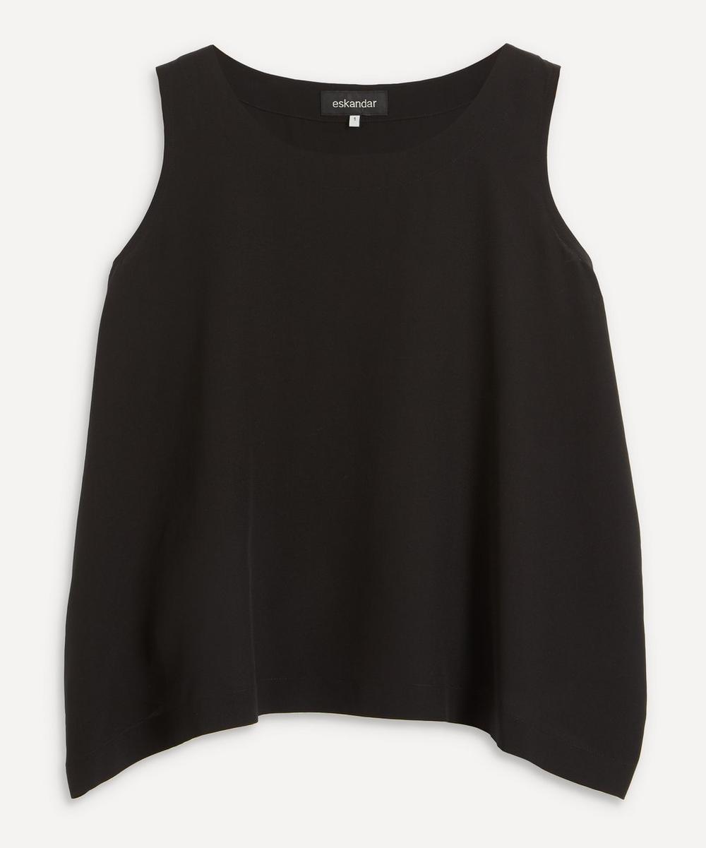 Eskandar - Shell Silk Sleeveless Top
