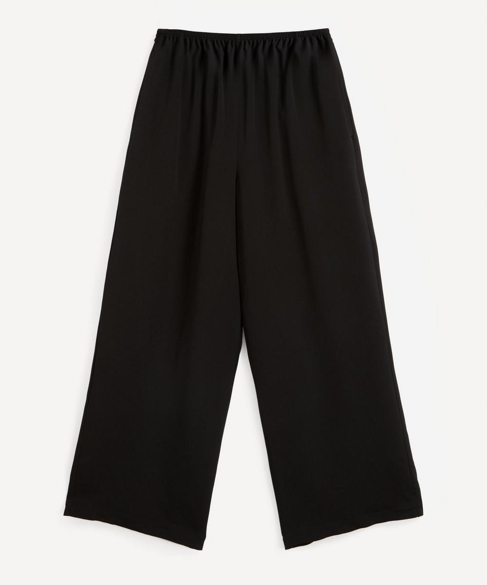 Eskandar - Flared Silk Trousers