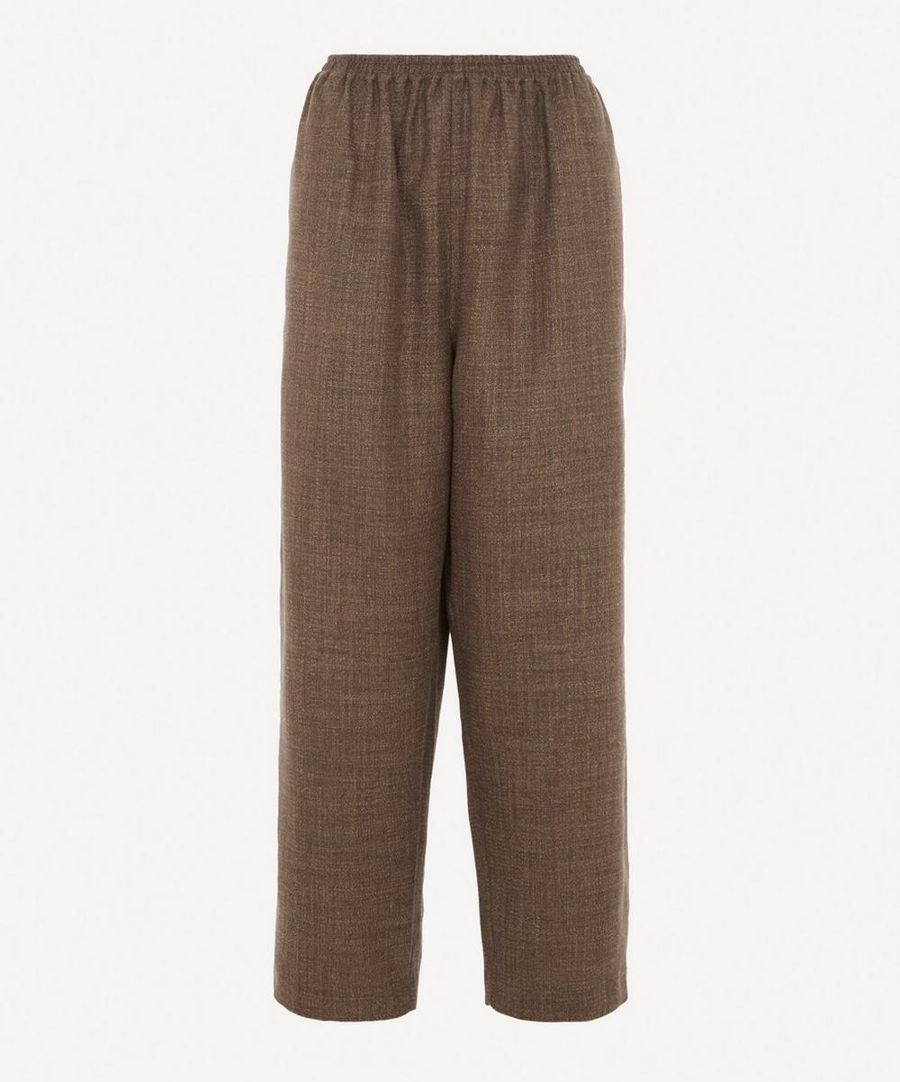 Eskandar - Ankle Slits Japanese Trousers