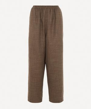 Ankle Slits Japanese Trousers