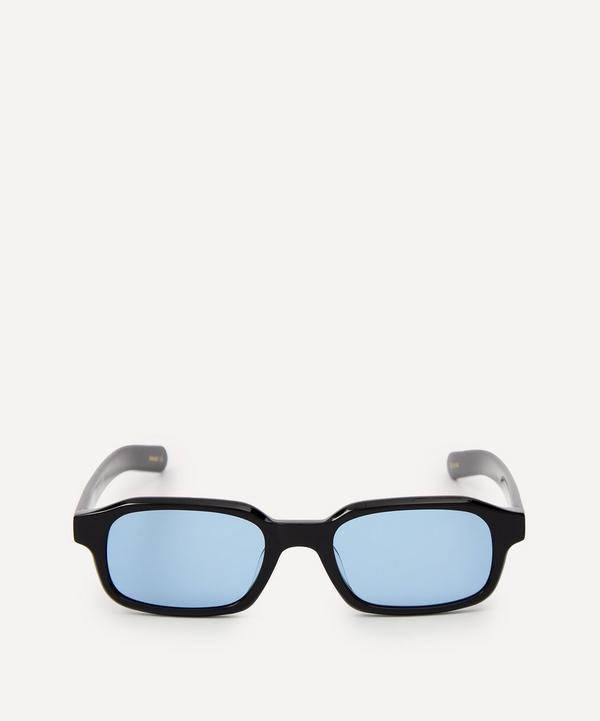 Flatlist - Hanky Solid Black Sunglasses
