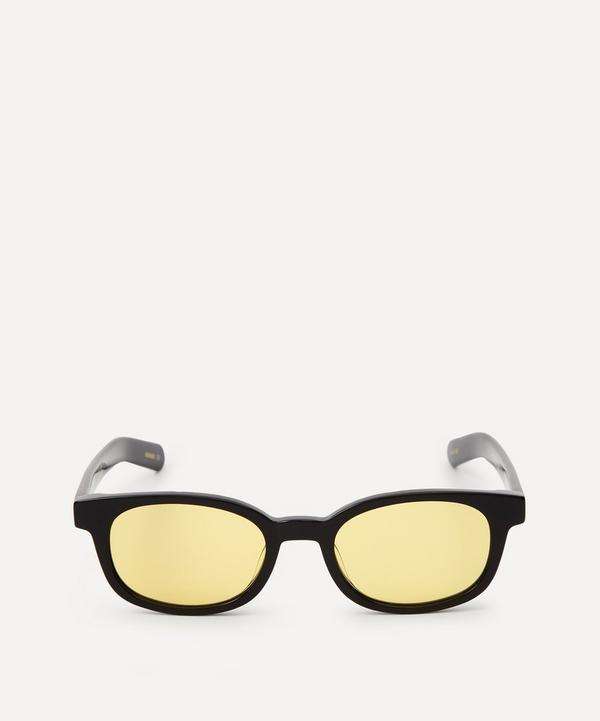 Flatlist - Le Bucheron Solid Black Sunglasses