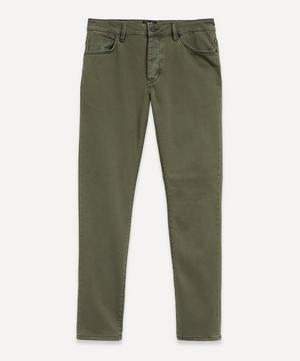 Lou Slim Jeans in Liberte Green