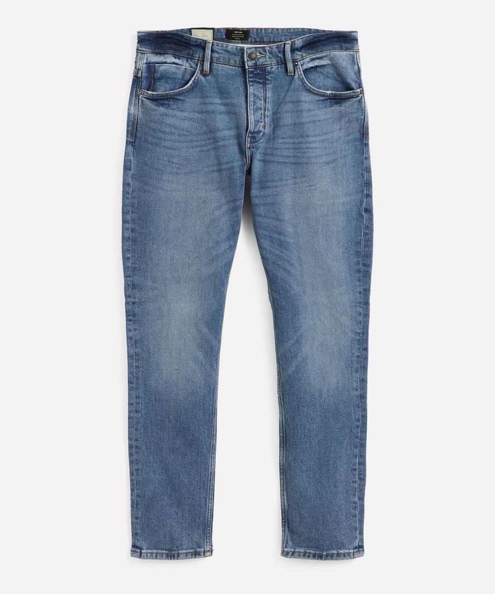 Neuw - Lou Slim Zero Flight Mid-Wash Jeans