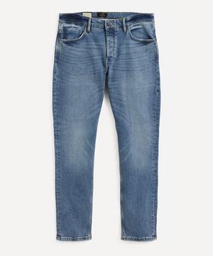 Lou Slim Zero Flight Mid-Wash Jeans