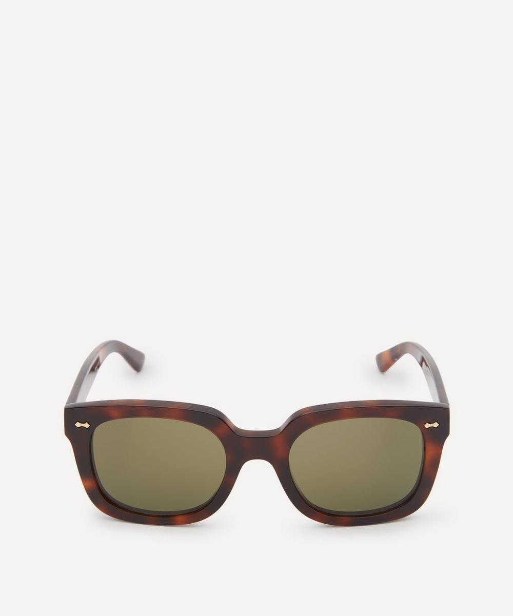 Gucci - Tortoiseshell Acetate Sunglasses