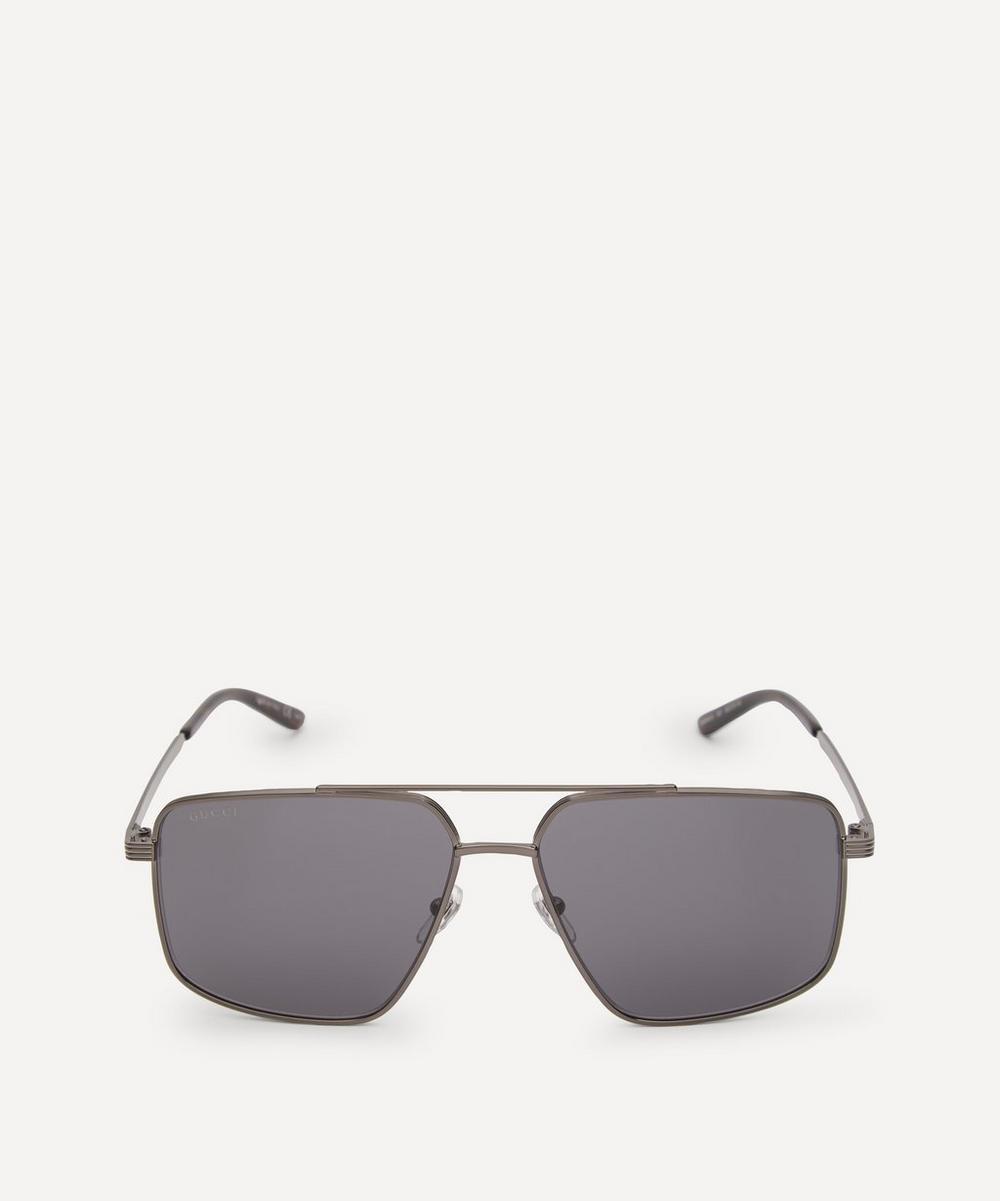 Gucci - Light Aviator Sunglasses