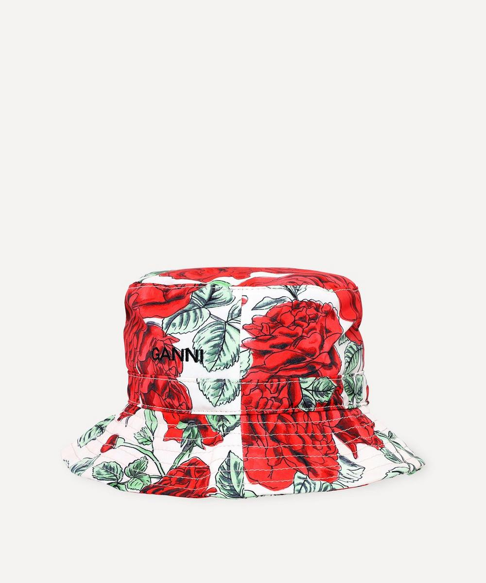 Ganni - Recycled Tech Fabric Bucket Hat