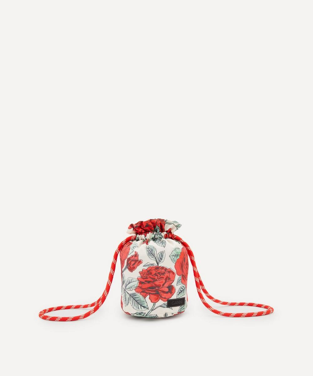 Ganni - Recycled Tech Fabric Drawstring Pouch Bag