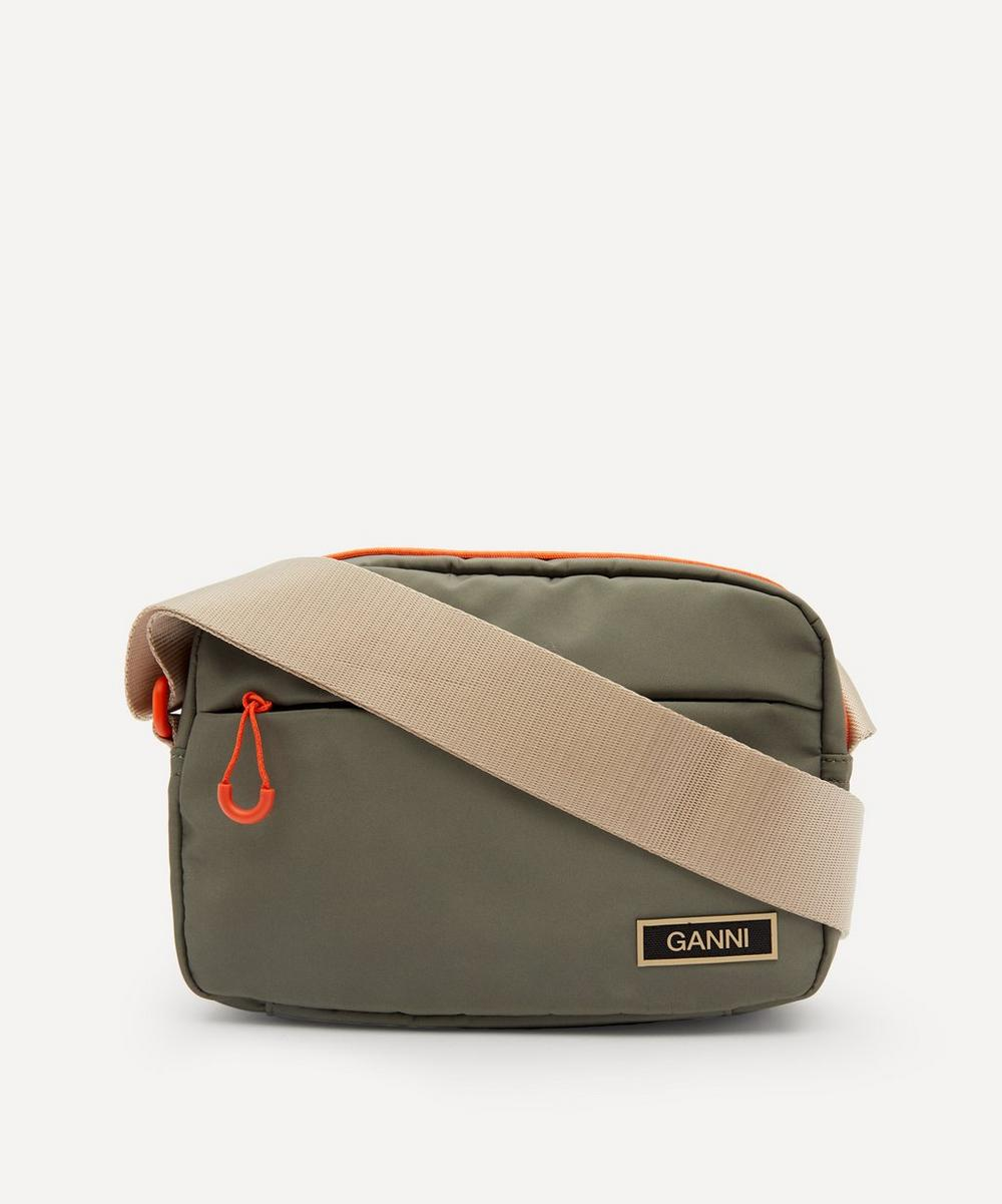 Ganni - Recycled Tech Fabric Festival Cross-Body Bag