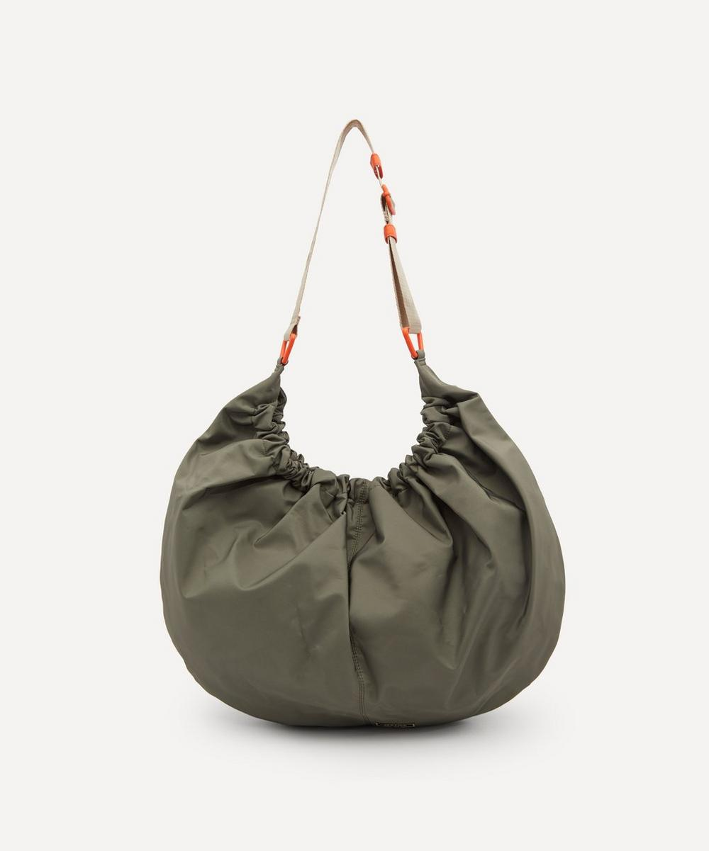 Ganni - Recycled Tech Fabric XXL Hobo Shoulder Bag