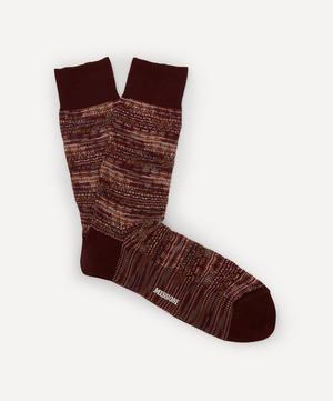 Tonal Patterned Socks