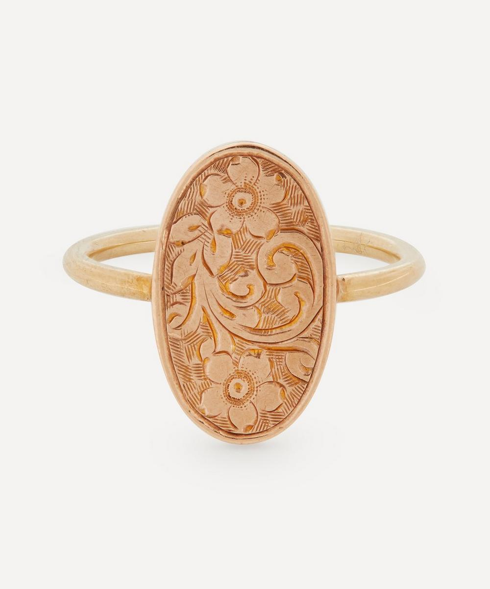 Annina Vogel - Forget-Me-Not Gold Disc Ring