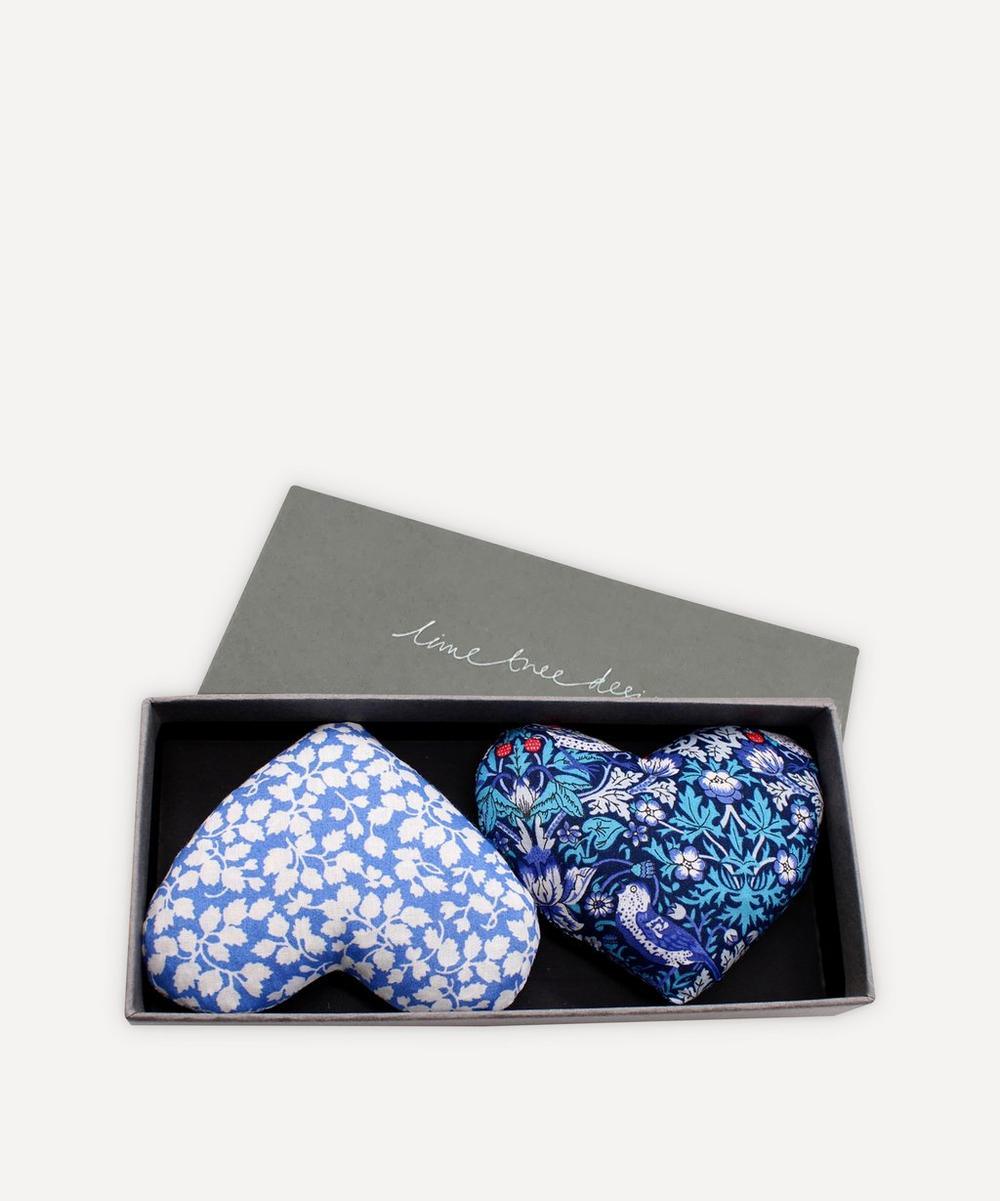 Lime Tree Design - Heartsease Lavender Hearts Box of Two