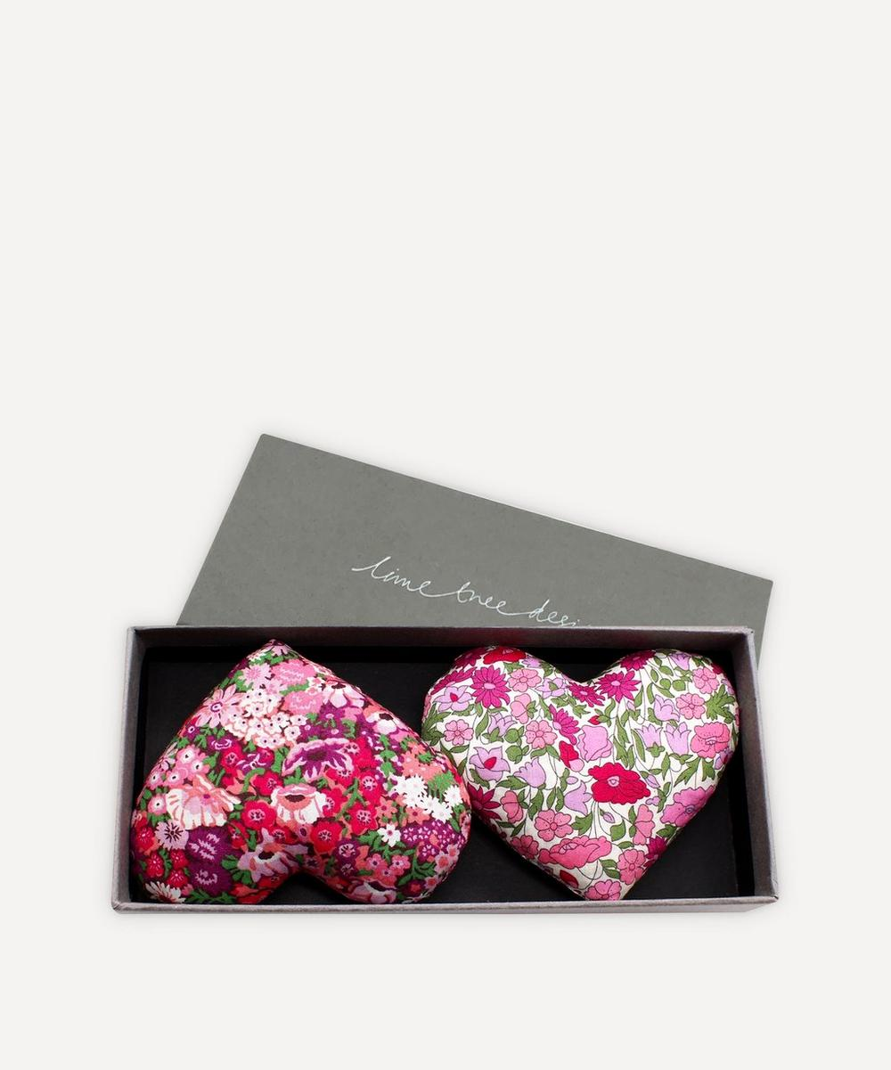 Lime Tree Design - Heart and Soul Lavender Hearts Box of Two