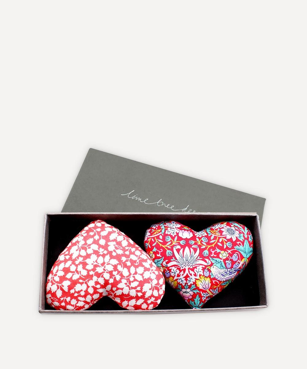 Lime Tree Design - Yours Truly Lavender Hearts Box of Two