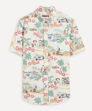 Peanuts in Hawaii Shirt