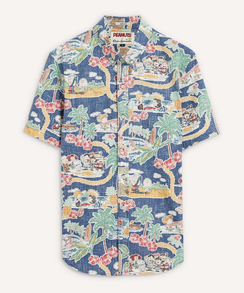 Reyn Spooner - Peanuts in Hawaii Shirt