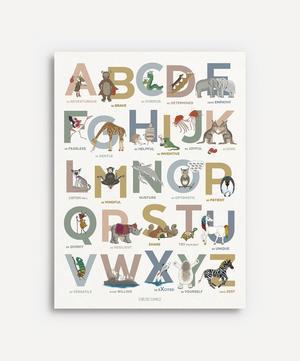 Alphabet Emotions Autumn Portrait A3
