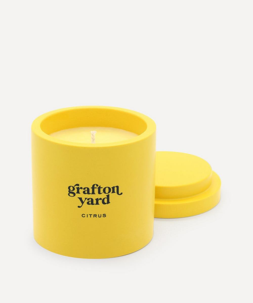 Grafton Yard - Mustard Citrus Scented Candle 160g