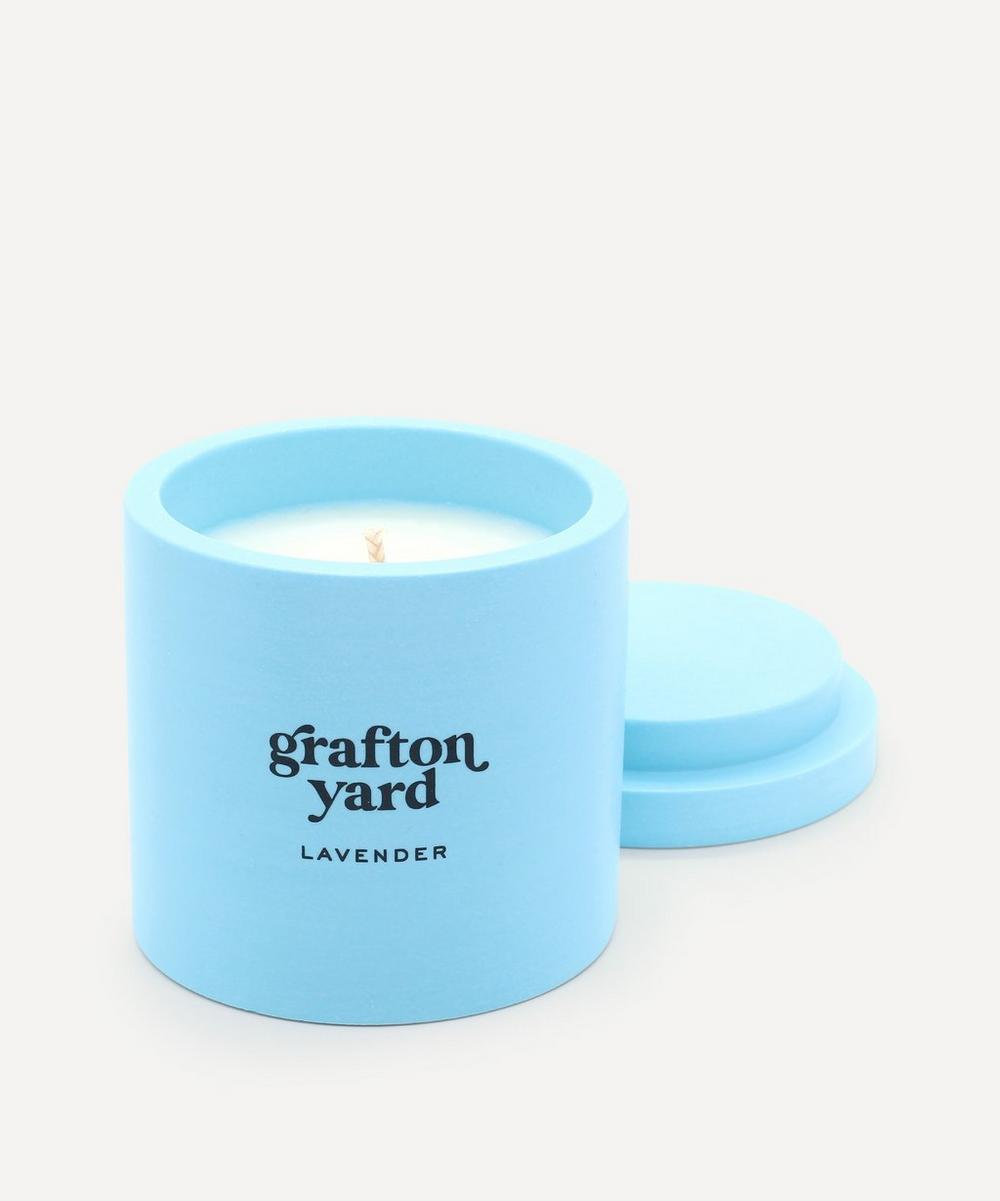 Grafton Yard - Blue Lavender Scented Candle 160g