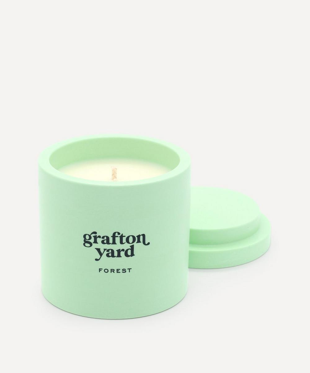 Grafton Yard - Green Forest Scented Candle 160g