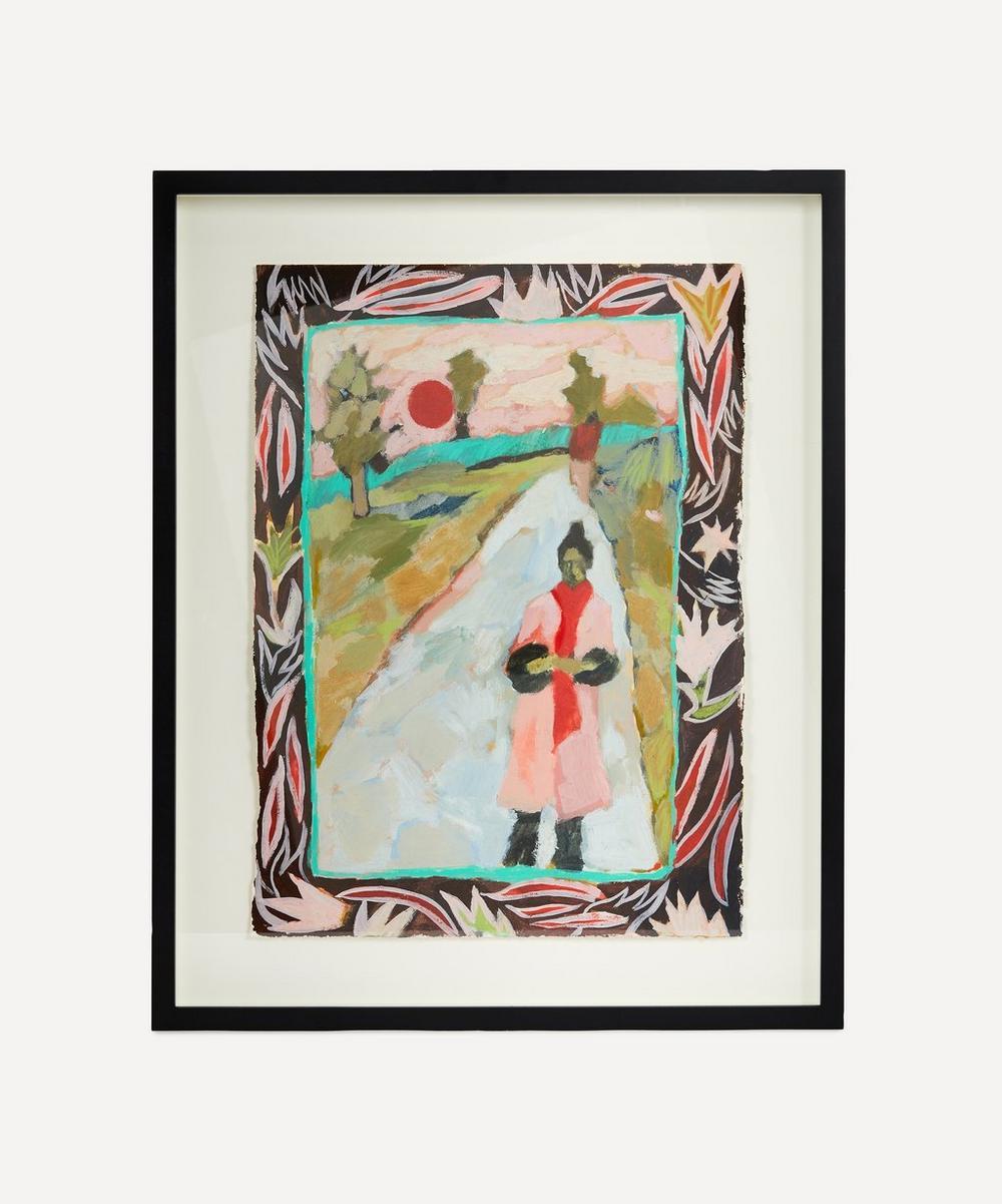 Katy Papineau - Parkland Walk Original Framed Painting