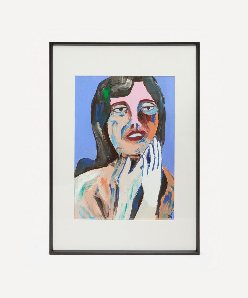 David Horgan - Indigo Child Original Framed Painting