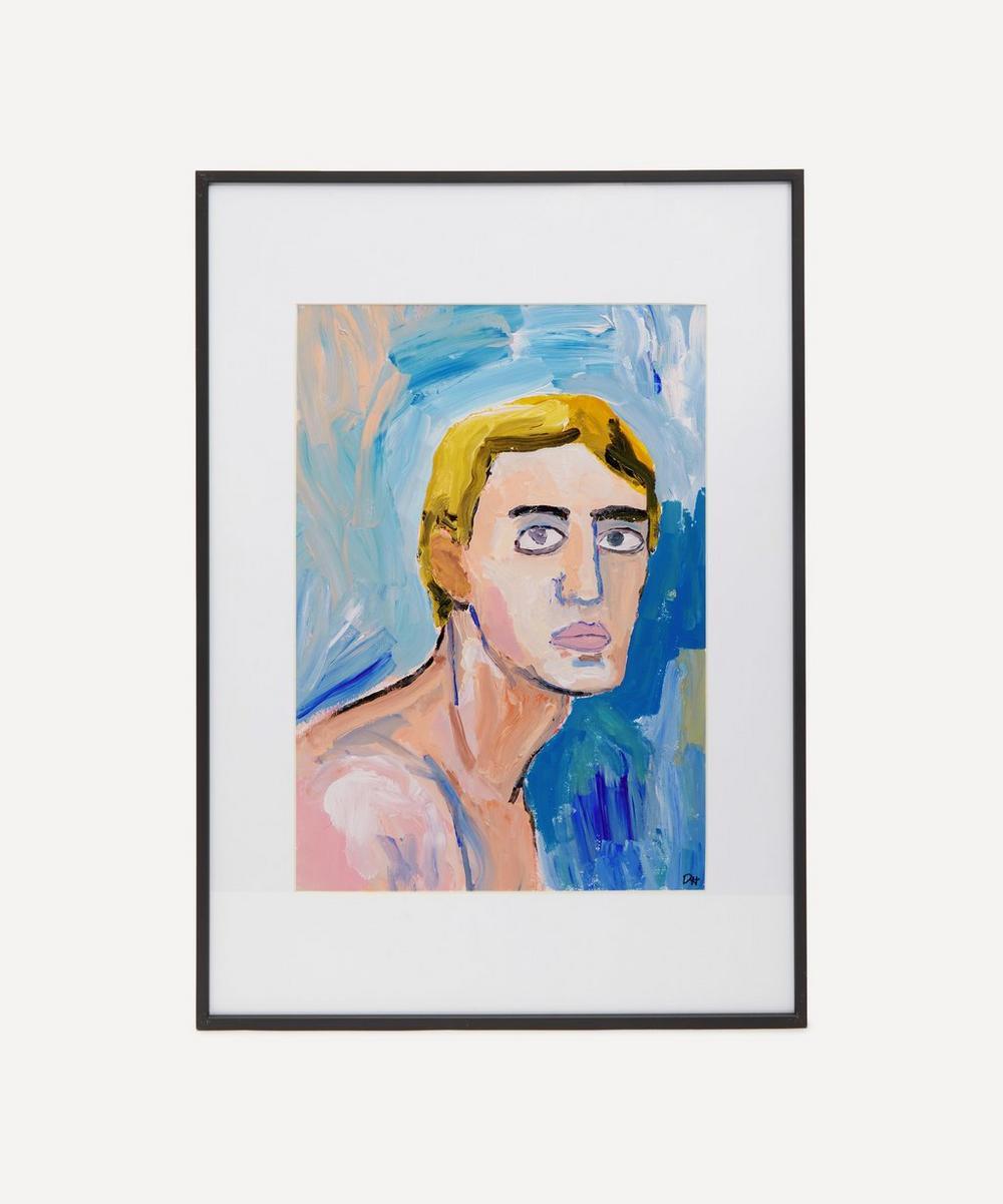 David Horgan - Lonely Boy Original Framed Painting