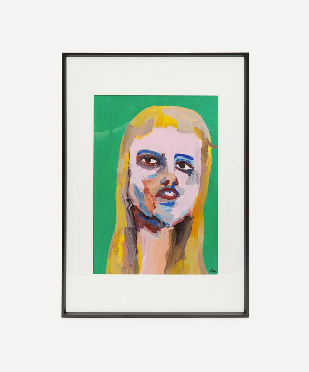David Horgan - She's Always A Woman To Me Original Framed Painting