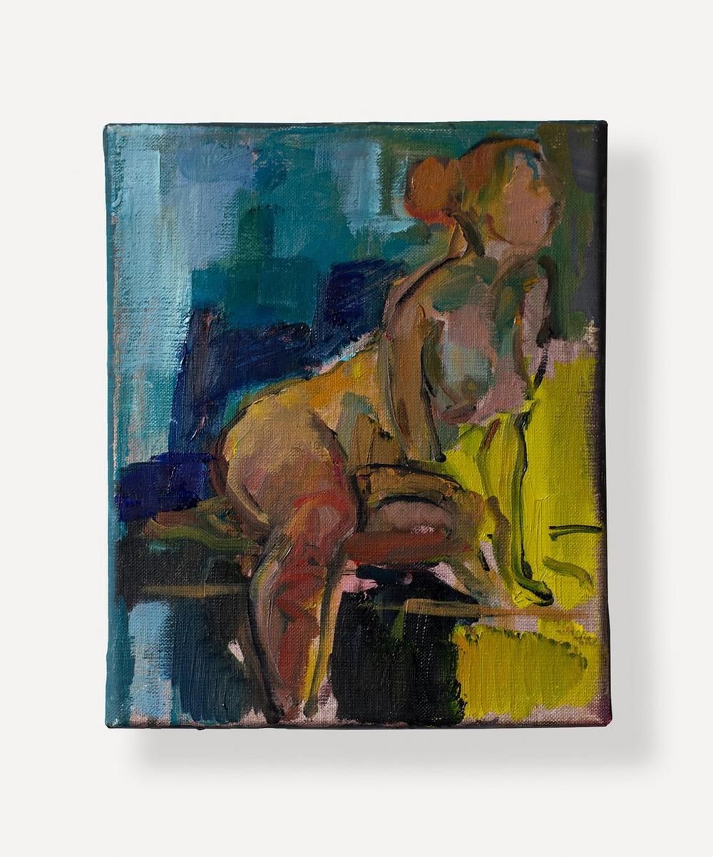Brenda Sakoui - Bessie Original Oil Painting